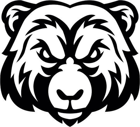 Bear head symbol