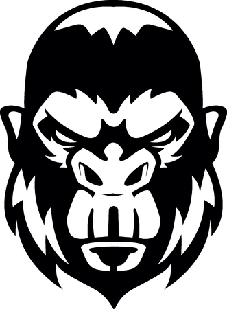 illustration: Gorilla illustration