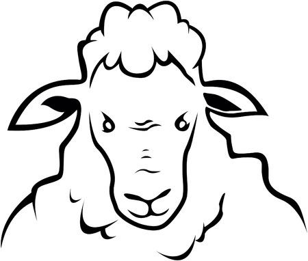 Schapen symbool illustratie