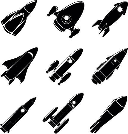 rocketship: Rocket illustration