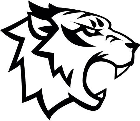 Tiger Symbol illustration design