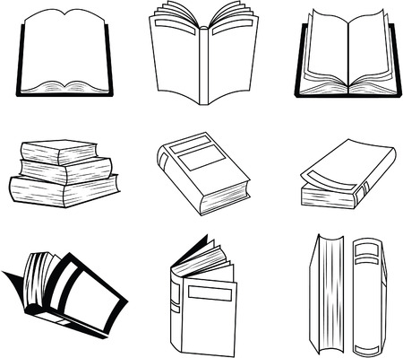 collective: Book Symbol Set Collection