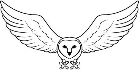 Owl Stock Illustratie