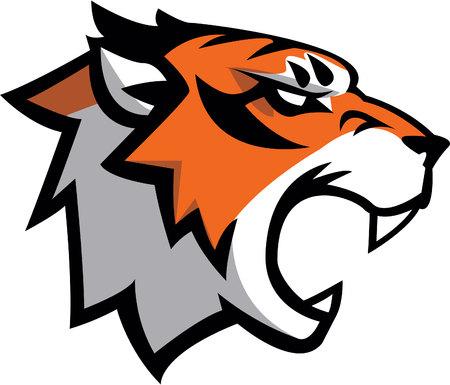 Тигр символ иллюстрации дизайн