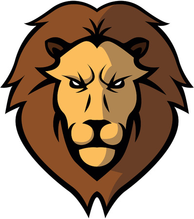lion head: Lion Head illustration design