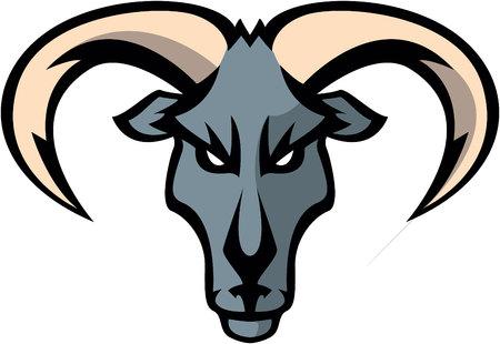 goat head: Goat head Illustration design