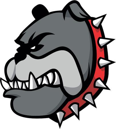 bulldog: Bulldog Ilustración de diseño Vectores