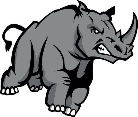 rhino: Rhino Illustration design Illustration