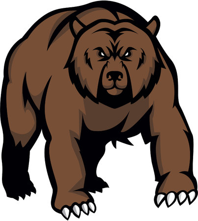 Bear Illustration design