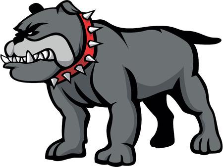 british bulldog: Bulldog  animal vector Illustration design Illustration