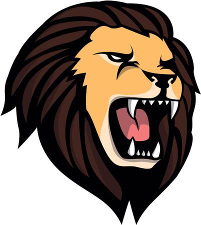 roaring: Roaring Lion head