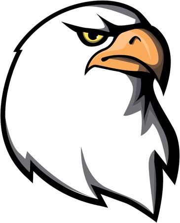 stiker: Eagle design vector illustration Illustration