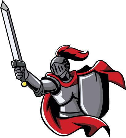 paladin: Knights design vector illustration