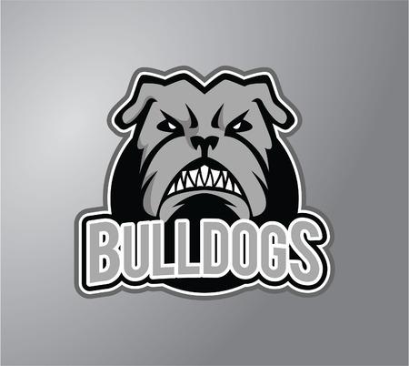 stiker: Bulldog