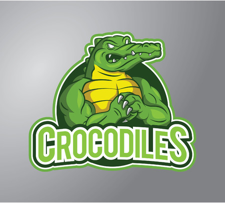 Crocodiles Illustration