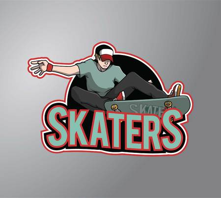 skaters: Skaters Illustration
