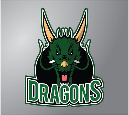 stiker: Green Dragon