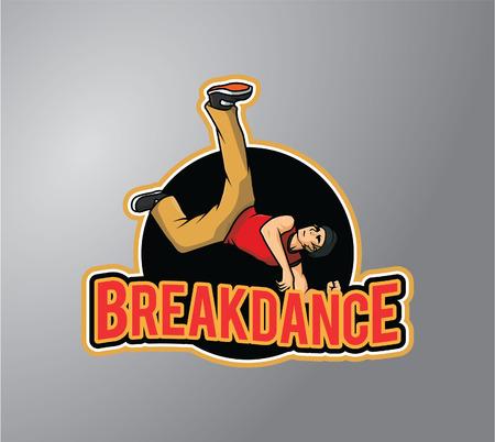 stiker: Breakdance