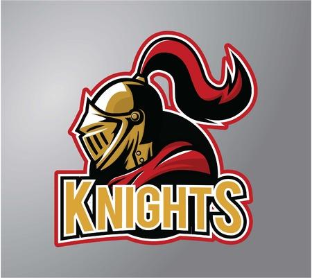 Warrior Knights Mascot