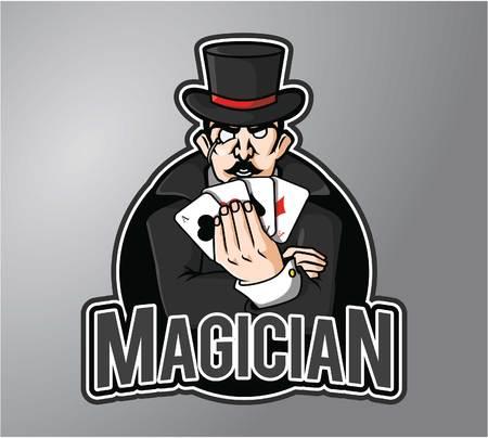 magician wand: Magician
