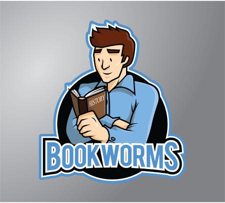 stiker: Bookworms