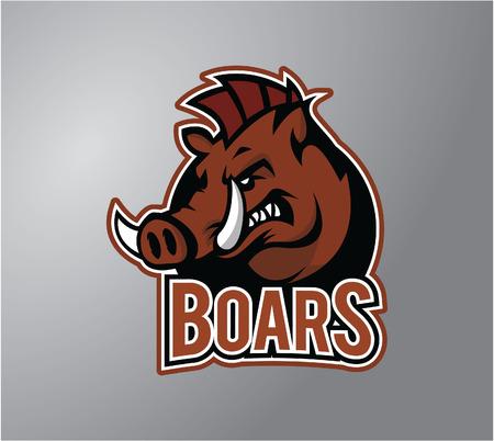 stiker: Boar