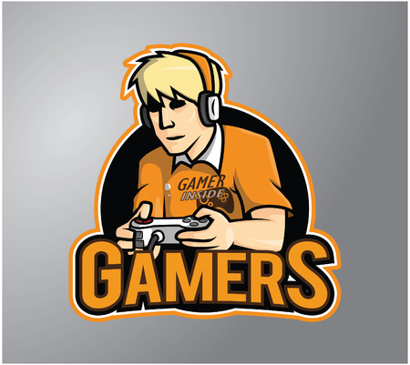 gamers: Gamers Illustration