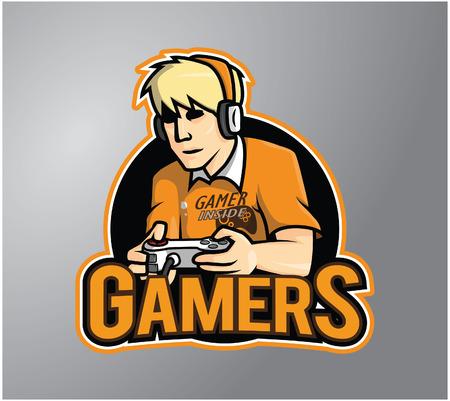 gamers: Gamers Illustration