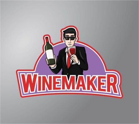 winemaker: winemaker Illustration