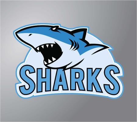 Sharks symbol illustration design Illustration