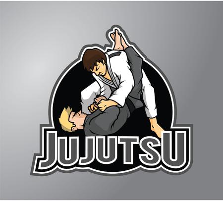 Jujutsu Illustration design badge