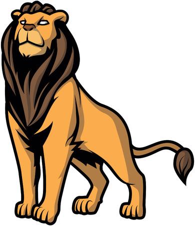 Lion illustration 向量圖像