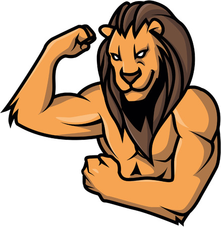 strong: Strong lion