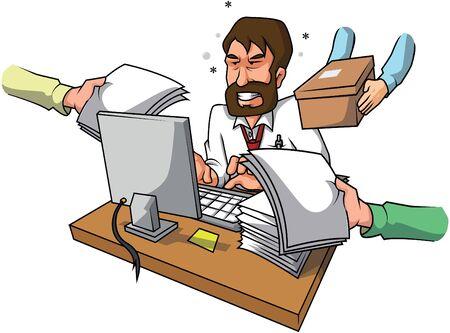 stress Homme d'affaires