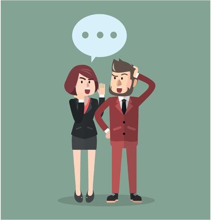 chismes: hombre de negocios de chismes