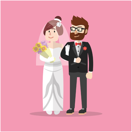 office romance: Marriage man and woman