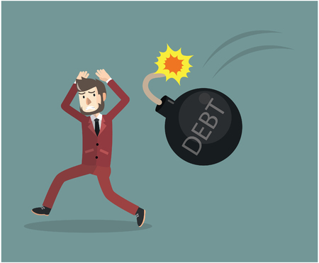 hardship: Business man Bomb