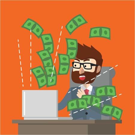 making money: Making money online suprised