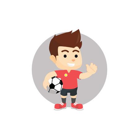 foot ball: Foot ball player