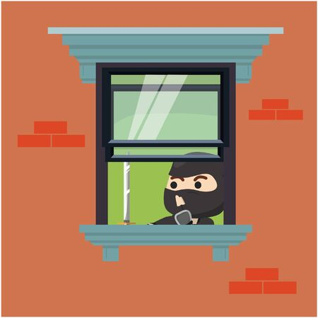 frond: Ninja inside house