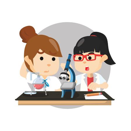 Scientist girl club