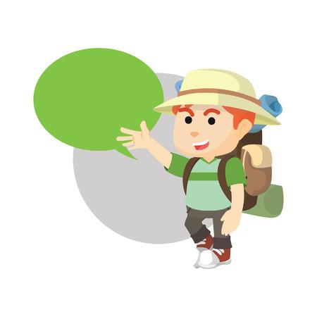 traveler: Boy using traveler custom