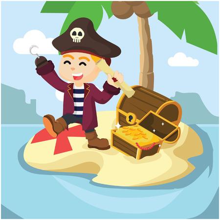 finally: pirate finally found treasure