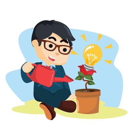innovative: man and innovative plant