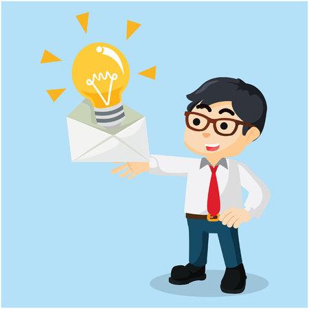 getting: getting innovation mail  illustration design