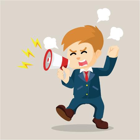 yelling: boy yelling angry  illustration design