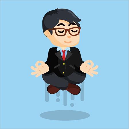 when: men flying when meditating