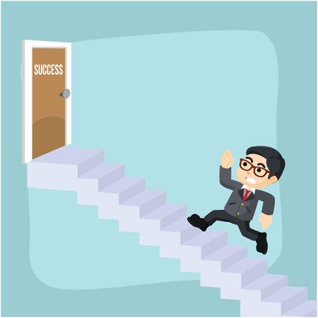 entrepreneurs: entrepreneurs climb the ladder to success