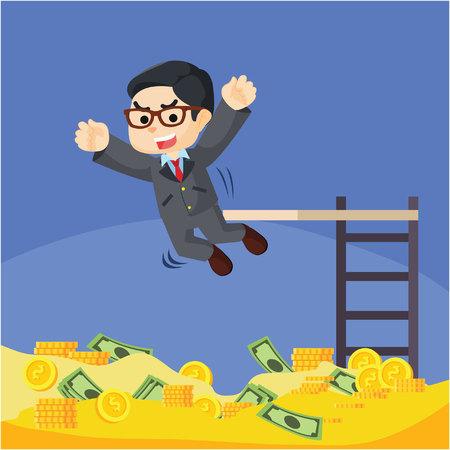 rich man: Rich man business coin pool