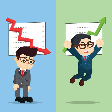 Different situational business  illustration design